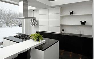 Kunstof keukenbladen